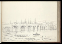 The Bridge at Barnstaple, 1827